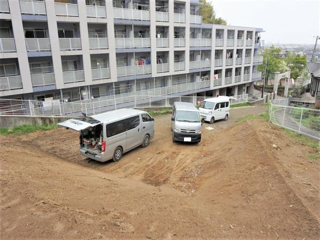 駐車スペース部分