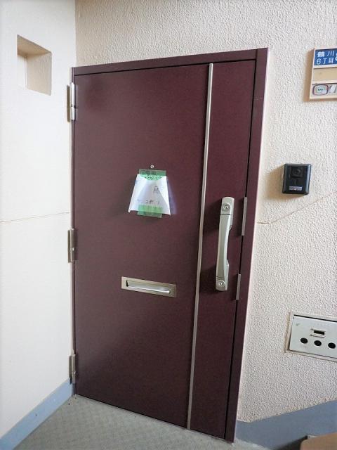 改修済 玄関ドア